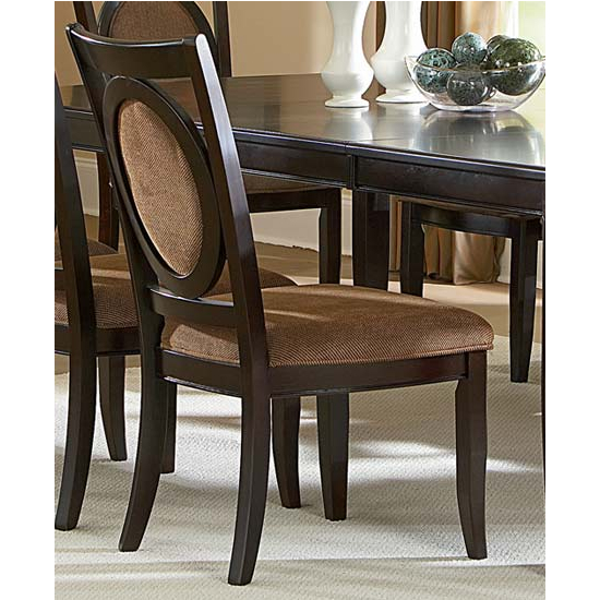Steve Silver Montblanc Side Chair, Merlot Finish