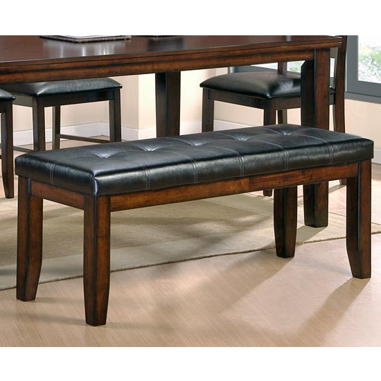 Steve Silver San Paulo Bench, Cherry Finish