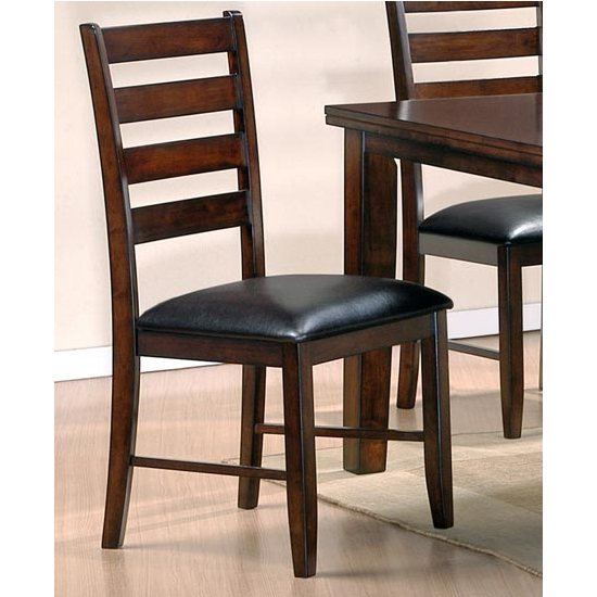 Steve Silver San Paulo Side Chair, Cherry Finish