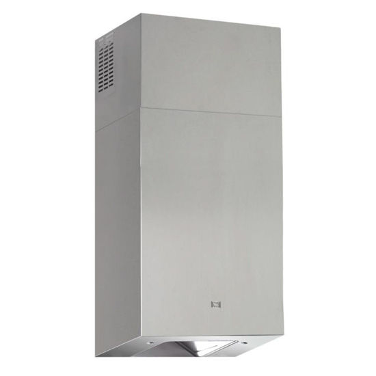 Sirius SU207 Wall Mount Range Hood, 600 CFM Internal Blower, Stainless Steel, 4 Speed Remote Control, 50W Dichroic Lamp