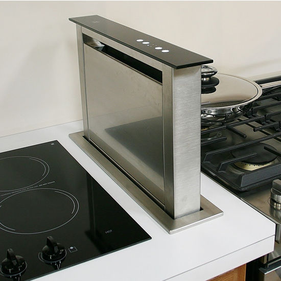 Sirius Sudd3 20 Side Mounted Downdraft Ventilation Range Hood For Use With External Er Stainless Steel