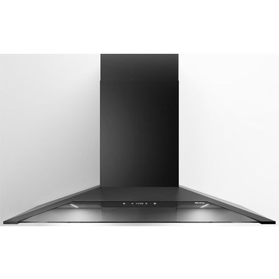 "Sirius 36"" Wall Mount Range Hood, 600 CFM, Black Stainless Steel, 4 Speed Touch Control"