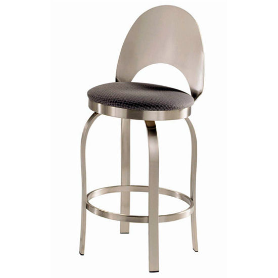 Trica Champagne Swivel Bar Stools