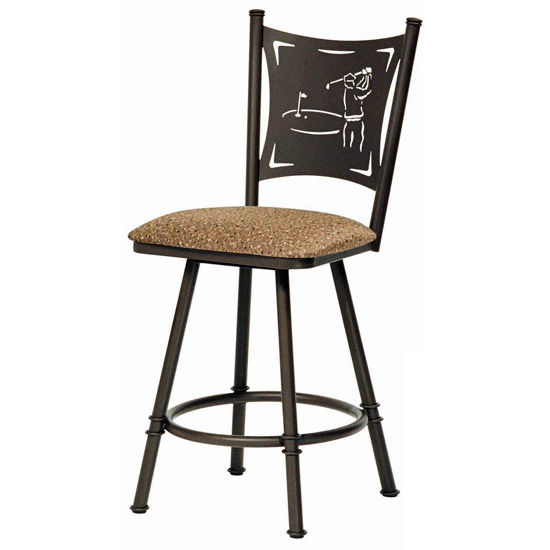 Trica Creation I Swivel Bar Stools