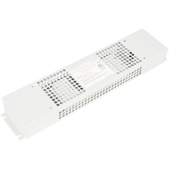 "Task Lighting Class 2 LED Hardwired Dimmable Power Supply, 24 Watt, 12V DC, 13-3/4"" W x 3"" D x 1-5/8"" H"