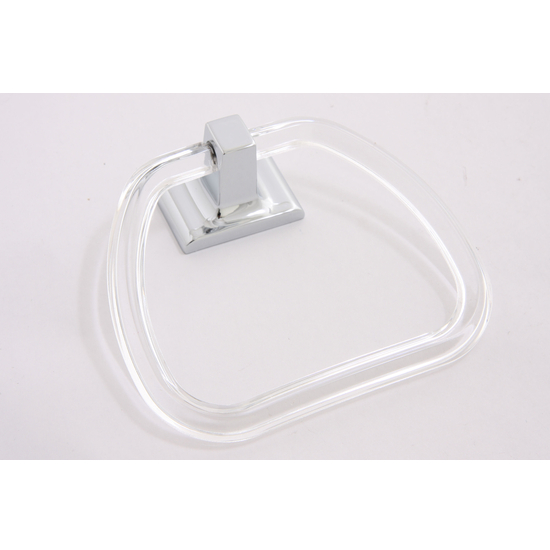 Sunglow Collection Lucite Towel Ring