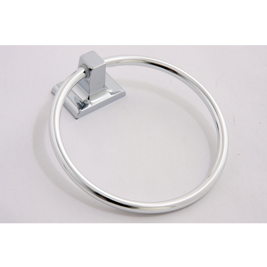 Sunglow Collection Chrome Towel Ring