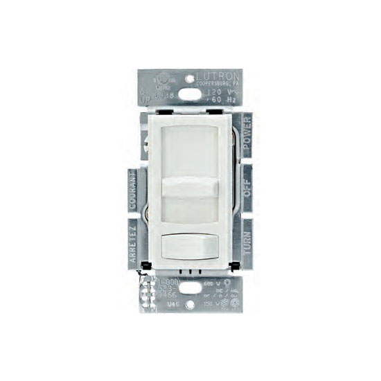 Tresco by Rev-A-Shelf Lutron Skylark Contour CL Dimmer without Face Plate, White