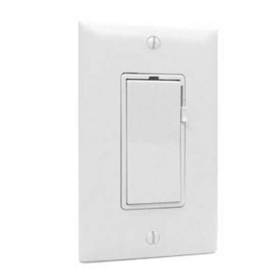 Electronic Decora Slide 600-Watt Dimmer By Tresco