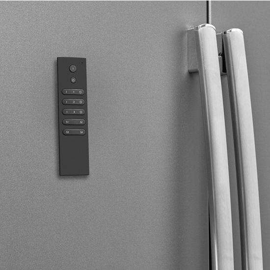 Tresco by Rev-A-Shelf FREEDiM Series 12VDC 3-Zone Remote Dimmer, Black, 3V Lithium Battery Included