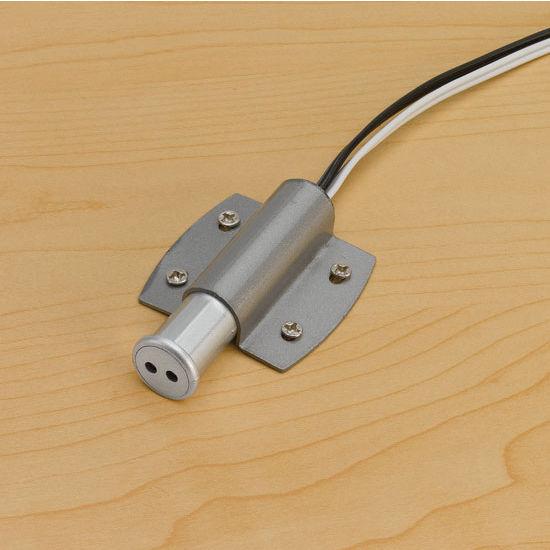Tresco by Rev-A-Shelf 12VDC 27W Oval LED Recess/Surface Mount Door Sensor, Nickel