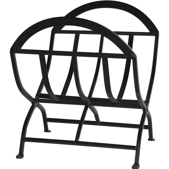 Wrought Iron Log Rack
