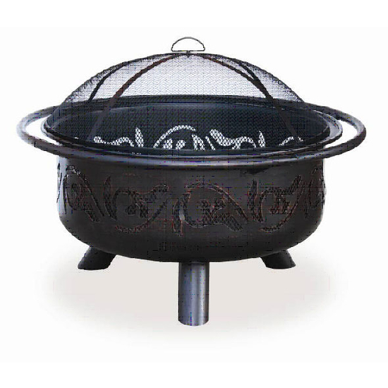 Uniflame - Oil Rubbed Bronze Outdoor Firebowl