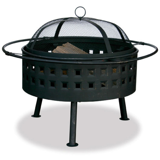 Uniflame Firebowl with Square Design