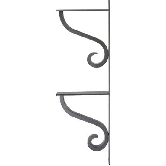 camden 2 tier linear shelf bracket by urban ironcraft rh kitchensource com