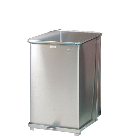 steel step cans by united receptacle by rubbermaid