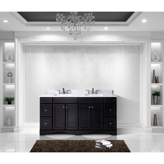 Talisa Collection 72 Quot Freestanding Double Bathroom Vanity