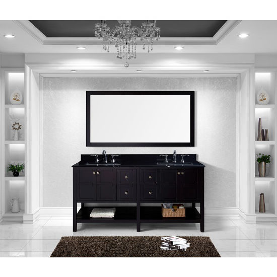 Virtu Usa Winterfell 72 Double Bathroom Vanity Cabinet Set