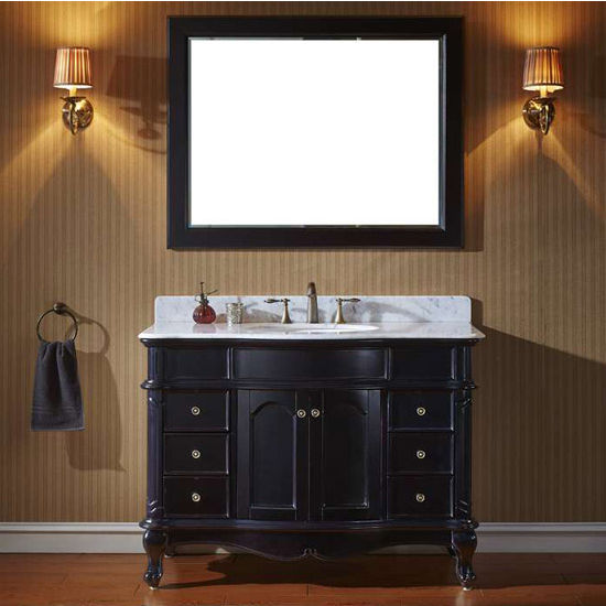 Bathroom Vanities, 48'' Norhaven Single Bathroom Vanity Set in ... on martha stewart seal harbor bathroom vanity, 48 single bathroom vanities, french provincial bathroom vanity, 30 inch bathroom vanity, bathroom cabinets over vanity, 24 inch sink vanity, sheffield bathroom vanity, 60 inch single bathroom vanity, white single sink vanity, dresser bathroom vanity, diy pallet bathroom vanity, sale home depot bathroom vanity, single basin bathroom vanity, mocha bathroom vanity, cheap single bathroom vanity, long single sink vanity, distressed cream bathroom vanity, trough sinks bathroom vanity, lowe's unfinished bathroom vanity, 40 bathroom vanity,