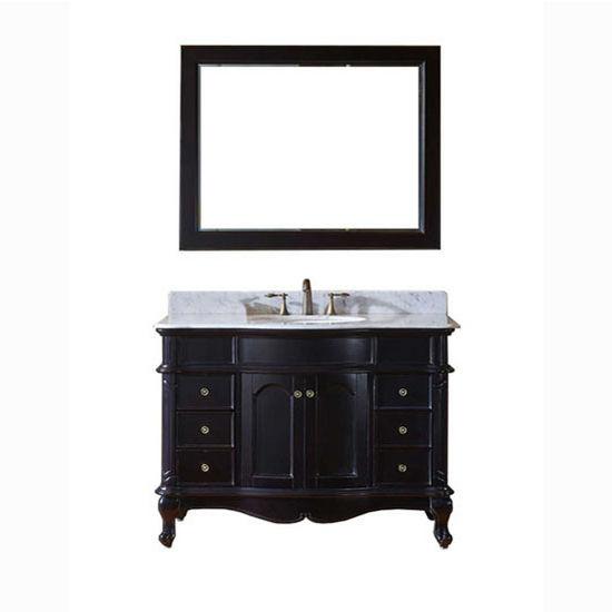 bathroom vanities 48 39 39 norhaven single round sink