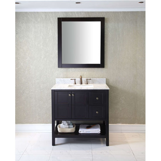 Bathroom Vanities, 36\'\' Winterfell Single Sink Bathroom Vanity Set ...