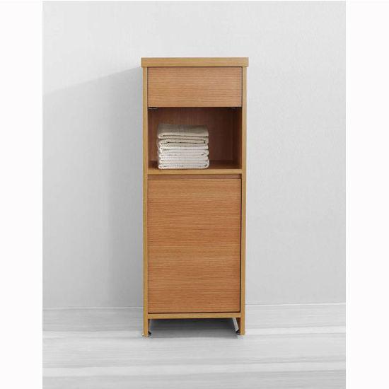 Chestnut Linen Cabinet