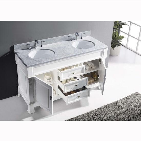 Bathroom Vanities 60 39 39 Huntshire Double Round Or Square Sinks Bathro