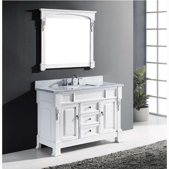 Bathroom Vanities 48 39 39 Huntshire Single Round Or Square Sink Bathroo