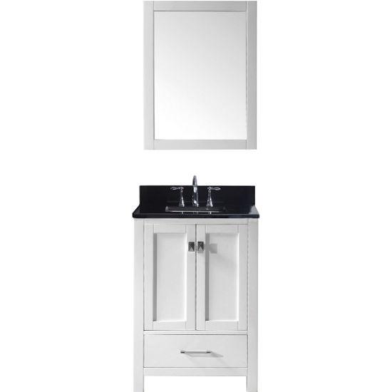 24 Bathroom Vanity With Backsplash caroline avenue 24'' single bathroom vanity cabinet set in