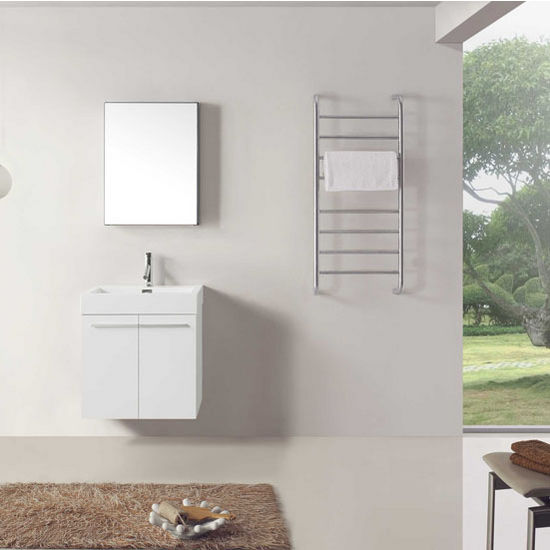 Gloss White Vanity Set