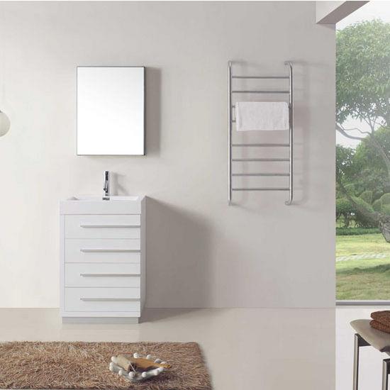 Gloss White Vanity Set