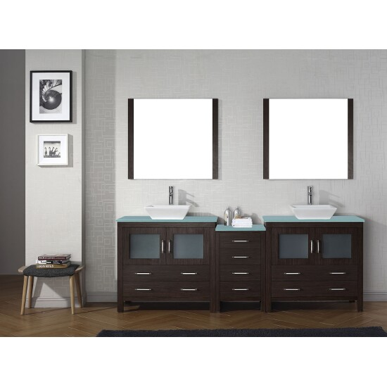Bathroom Vanity Set. Virtu USA Dior 90  Double Bathroom Vanity Set Vanities Sinks in