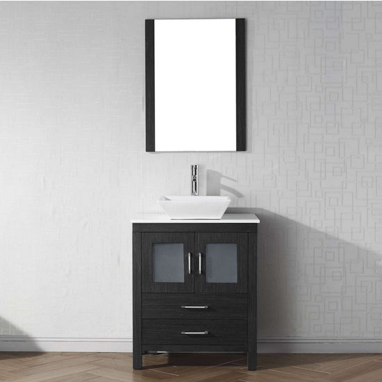 View Larger Image & Bathroom Vanities 28u0027u0027 Dior Single Sink Bathroom Vanity Cabinet in ...