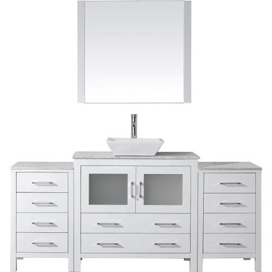 Bathroom Vanities, 66'' Dior Single Sink Bathroom Vanity ...