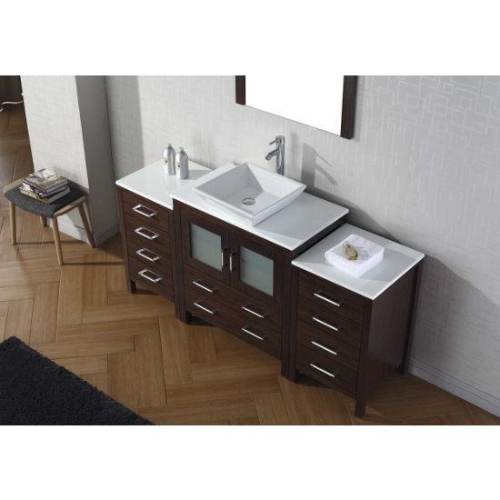 68 Bathroom Vanity bathroom vanities, 68'' dior single sink bathroom vanity set in