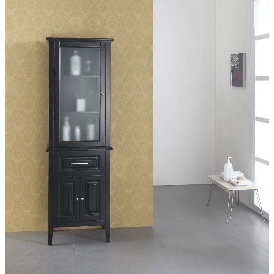 Espresso Side Cabinet