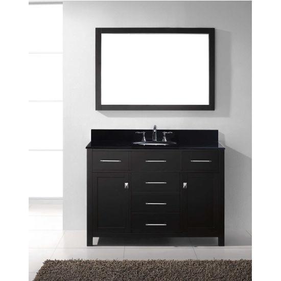 """Virtu USA Caroline 48"""" Single Sink Bathroom Vanity"""