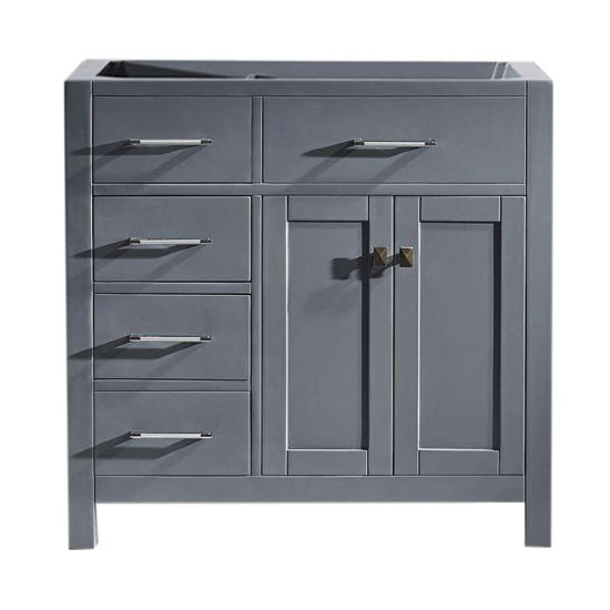Virtu USA 36'' Caroline Parkway Left or Right Drawers Single Vanity