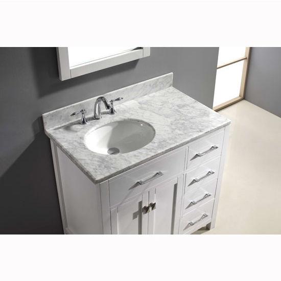 Virtu Usa Caroline Parkway 36 Single Sink Bathroom Vanity