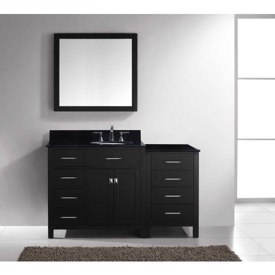 Virtu Usa Caroline Parkway 57 Single Bathroom Vanity Cabinet Set