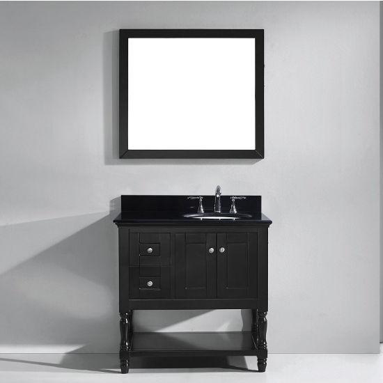 """Virtu USA Julianna 36"""" Single Bathroom Vanity Cabinet Set"""