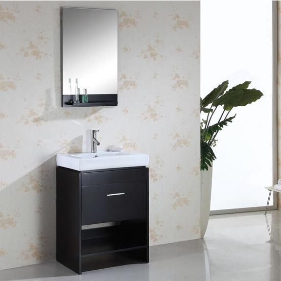 """Virtu Gloria 24"""" Single Bath Vanity Set"""