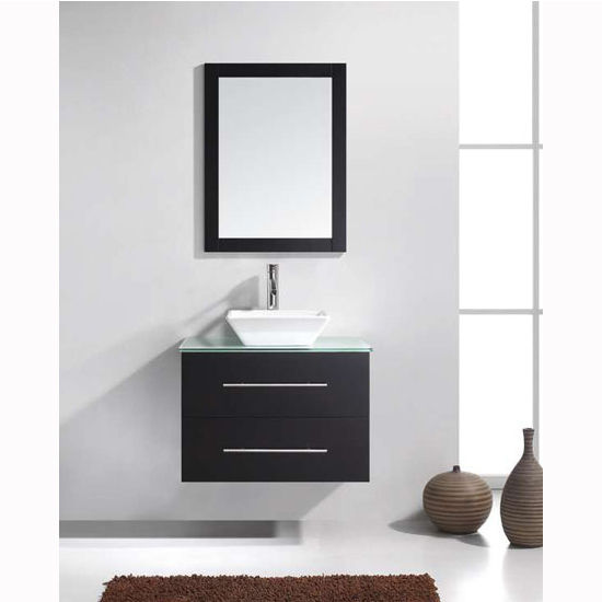 Bathroom Vanities Virtu Usa Marsala 30 Wall Mounted Single Bath