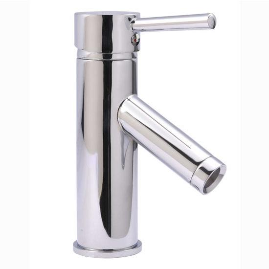 Virtu 7'' Single Handle Faucet in Polished Chrome, 2'' W x 2'' D x 7'' H