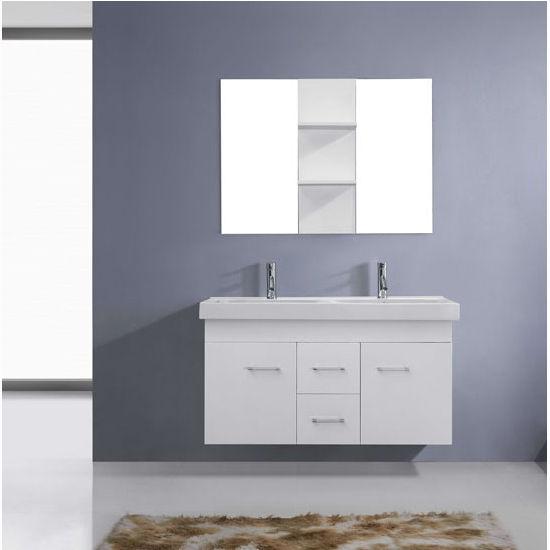 Vanity Front View : Bath vanities opal complete wall mounted double
