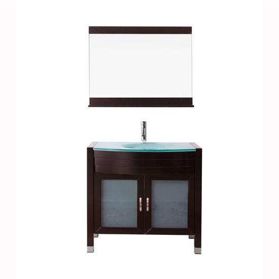 Bath vanities ava complete bath vanity set by virtu usa for Ava bathroom furniture