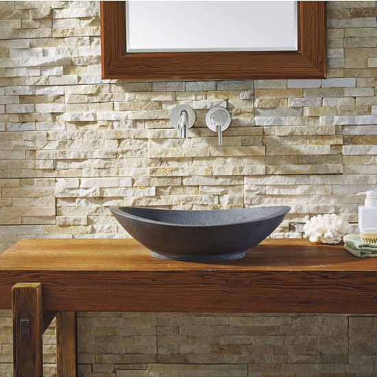 Dark Grey Granite Vessel Sink
