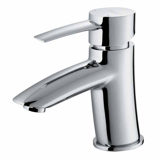 Vigo Single Handle Chrome Finish Faucet, Gooseneck Handle