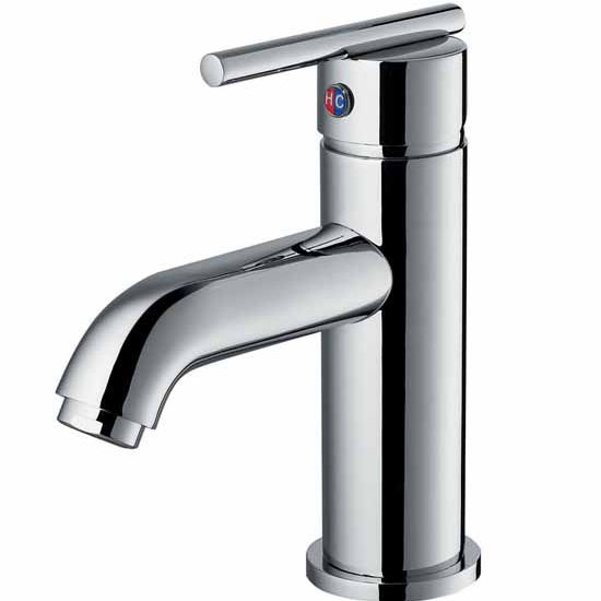 "Vigo Triana Single Handle Bathroom Faucet In Chrome - 6-7/8""H x 4-3/4"" Spout Reach"