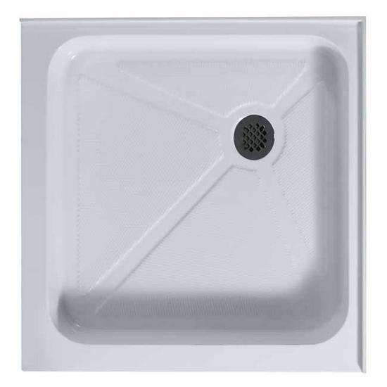 """Vigo 32"""" x 32"""" Square Shower Tray White"""
